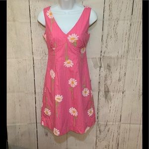 Lilly Pulitzer Pink Daisy Dress 2P